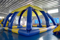 10mL * 10mW * 5mH Large Inflatable Swimming Pool With Tent Cover