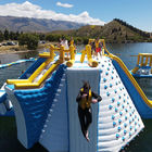 New Zealand New Floating Inflatable Water Park Made By Bouncia / Lake Inflatable Water Games