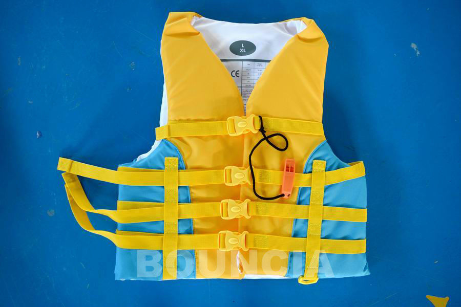 Water Park Inflatable Life Jacket / Life Vest For Sea Or Lake